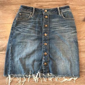 A&F denim skirt